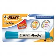 Pincel para Quadro Branco Bic Recarregável Azul Claro 930087 25161