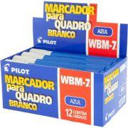 Marcador Para Quadro Branco Azul WBM-7 Azul Caixa Com 12 Un. Pilot 03531