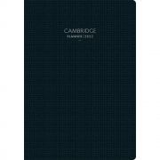 Planner 2022 Executivo Costurado Cambridge Preto Tilibra 130257 29475
