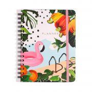 Planner Cicero A5 Wire-O Verão Flamingo 9017 29024