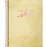 Planner Tilibra 2021 Cambridge Shine Espiral 304522 29474