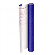Plástico Adesivo DAC Glitter Azul PP 45cm X 10m 1703AZ 28442