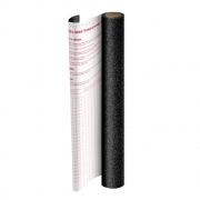 Plástico Adesivo DAC Glitter Preto PP 45cm X 10m 1703PR 28444