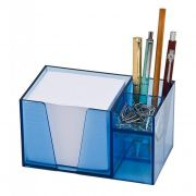 Porta Lápis Clips Papel Lembrete Acrimet Azul 954 23906
