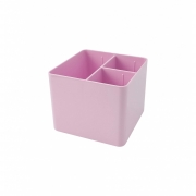 Porta Objetos 3 Divisórias Dello Rosa Pastel 3020.Wp.0006 29655