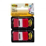 Marcador de Página Adesivo Post-it® Flags Vermelho 25,4 mm x 43,2 mm - 100 folhas 16790