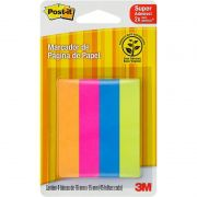 Post-It 3M Flags Papel Sortidos 4 Cores 76mm X 15mm 180 Fls 22921