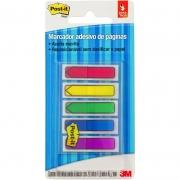 Marcador de Página Adesivo Post-it® Flags Setas 5 Cores Sortidas 11,9 mm x 43,2 mm - 100 folhas 24019