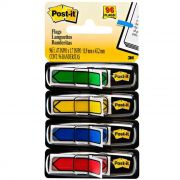 Post-It Flags Seta 4 Cores Sortidas com 96 Setas 3M 02262