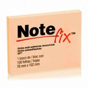 Post-It Notefix 76mm X 102mm 100 Fls. Laranja 3M 03903