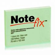 Post-It Notefix 76mm X 102mm 100 Folhas Verde 3M 08923
