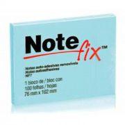 Post-It Notefix 76Mm X 102Mm com 100 Folha Azul 3M 15028