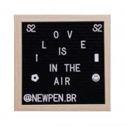 Quadro Letter Board Newpen 25X25cm 10.003 28503