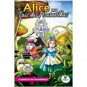 Revista em Quadrinhos Clássicos Todo Livro Alice Pais Das Maravilhas 1151215 28103