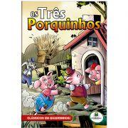 Revista em Quadrinhos Clássicos Todo Livro Tres Porquinhos 1151274 28102