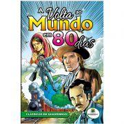 Revista em Quadrinhos Classicos Todo Livro Volta Ao Mundo em 80 Dias 1151304 28101