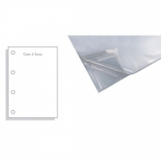 Saco Plástico ACP 0.06 4 Furos Of (240X325) 100 UN 07910