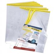 Saco Plastico Com Fita Adesiva Oficio 240X330 50 Un 1697 29547