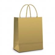 Sacola Cromus Premium Ouro G 34X38X15 14000968 29680