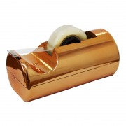 Suporte Para Fita Adesiva Waleu Pequeno Cobre Metalizado 10010017 29420