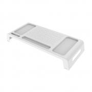 Suporte Para Monitor e Notebook Waleu Prime Branco 10090010 28893