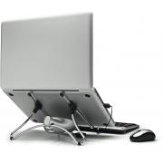 Suporte Para Notebook Com Cooler Ergonomico Uptable Octoo Cromado Upc-01 29563