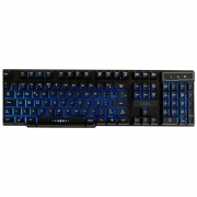 Teclado Gamer Semi Mecânico OEX Force-X LED ABNT2 USB Preto TC201 30116