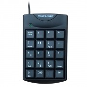 Teclado Numérico Multilaser USB Preto TC229 29937