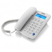 Telefone com Fio com Identificador Chamada E Viva Voz Gelo Tcf-3000C Elgin 13095