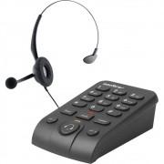 Telefone Headset Intelbras Com Base Discadora Hsb50 4013330 29774