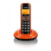 Telefone Sem Fio Elgin Com Identicador de Chamadas Laranja TSF760L 24491