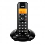 Telefone Sem Fio Elgin C Identicador de Chamadas Preto Tsf7600 24489