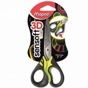 Tesoura Escolar Maped 13,5Cm Fluo 484310 23784