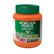 Tinta Acrilica Acrilex Fosca 250ml Laranja 517 03525 25284