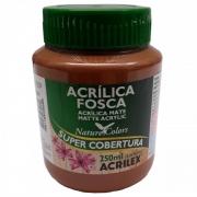 Tinta Acrilica Acrilex Fosca 250ml Marrom 531 03525 25285
