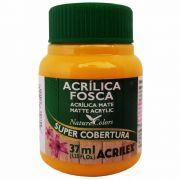 Tinta Acrilica Acrilex Fosca 37ml Amarelo Ouro 505 03540 25289