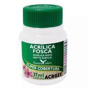 Tinta Acrilica Acrilex Fosca 37Ml Branco 519 03540 25294