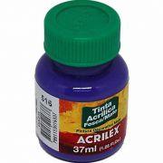 Tinta Acrilica Acrilex Fosca 37Ml Violeta 516 03540 25293
