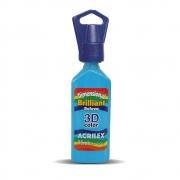 Tinta Dimensional Relevo 3D Acrilex 35ml Azul Celeste 503 12112 05382