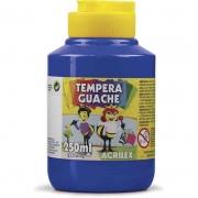 Tinta Guache Acrilex 250 Ml Azul Turquesa 501 02025 03956