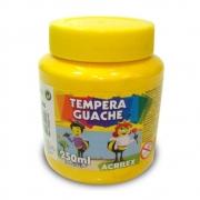 Tinta Guache Acrilex 250ml Amarelo Ouro 505 02025 03958