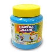 Tinta Guache Acrilex 250ml Azul Celeste 503 02025 03957