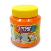 Tinta Guache Acrilex 250ml Laranja 517 02023 03962
