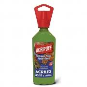 Tinta Tecido Acrilex 35ml Acripuff Verde Abacate 572 04812 05461