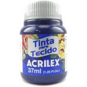 Tinta Tecido Acrilex 37ml Azul Marinho 544 04140 04017