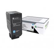 Toner Com Mecanismo de Impressão Lexmark 74CBHC0 Ciano 29647