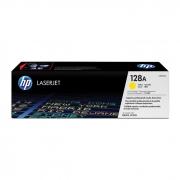 Toner HP 128A Amarelo Laserjet Original (CE322AB) 20578