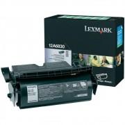 Toner Lexmark 12A6830 Preto 04261