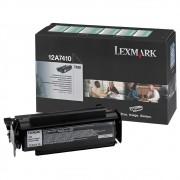 Toner Lexmark 12A7410 Preto 05796