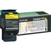 Toner Lexmark C540A1YG Amarelo 13463